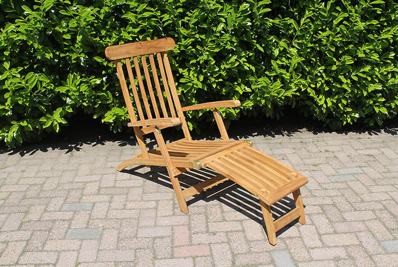 deckchair teak teakhouten deckchair 149. Black Bedroom Furniture Sets. Home Design Ideas