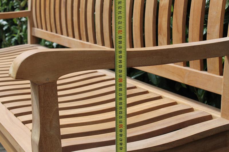 Tuinbank teak Beaufort   Verkrijgbaar In 150 cm en 180 cm