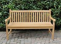 Teakhouten tuinstoelen - Assortiment tuinbank