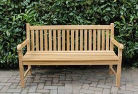 Teakhouten tuinstoelen - Teak tuinbank